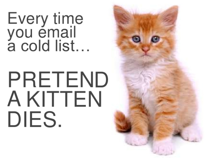cold email lists